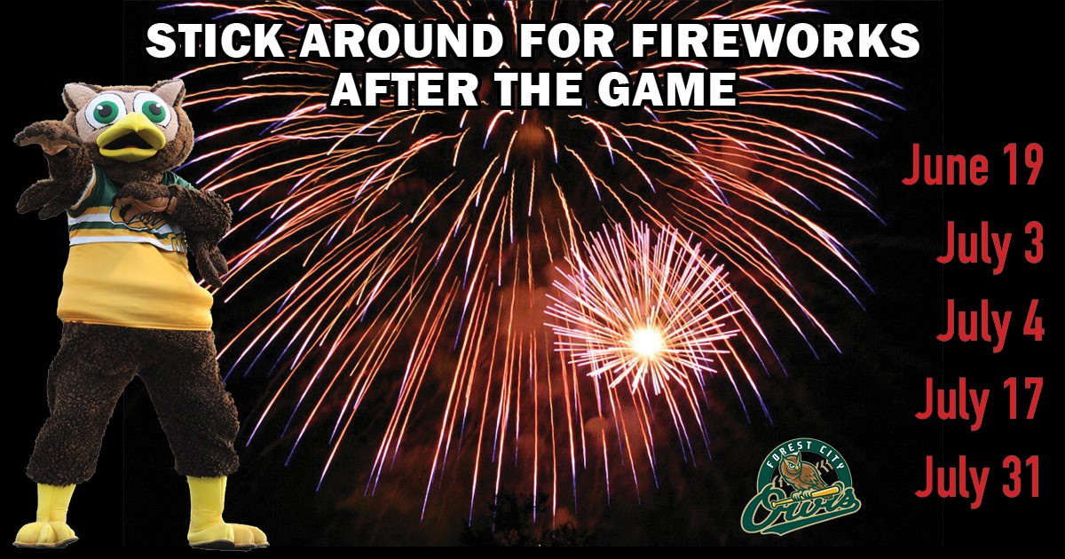 Fireworks and Cherry Bounce Festival on Saturday, June the 19th